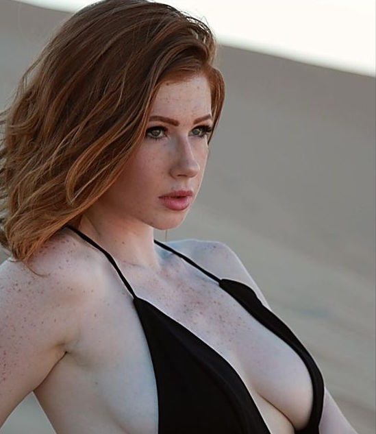 perfect redhead busty sexy wow hot