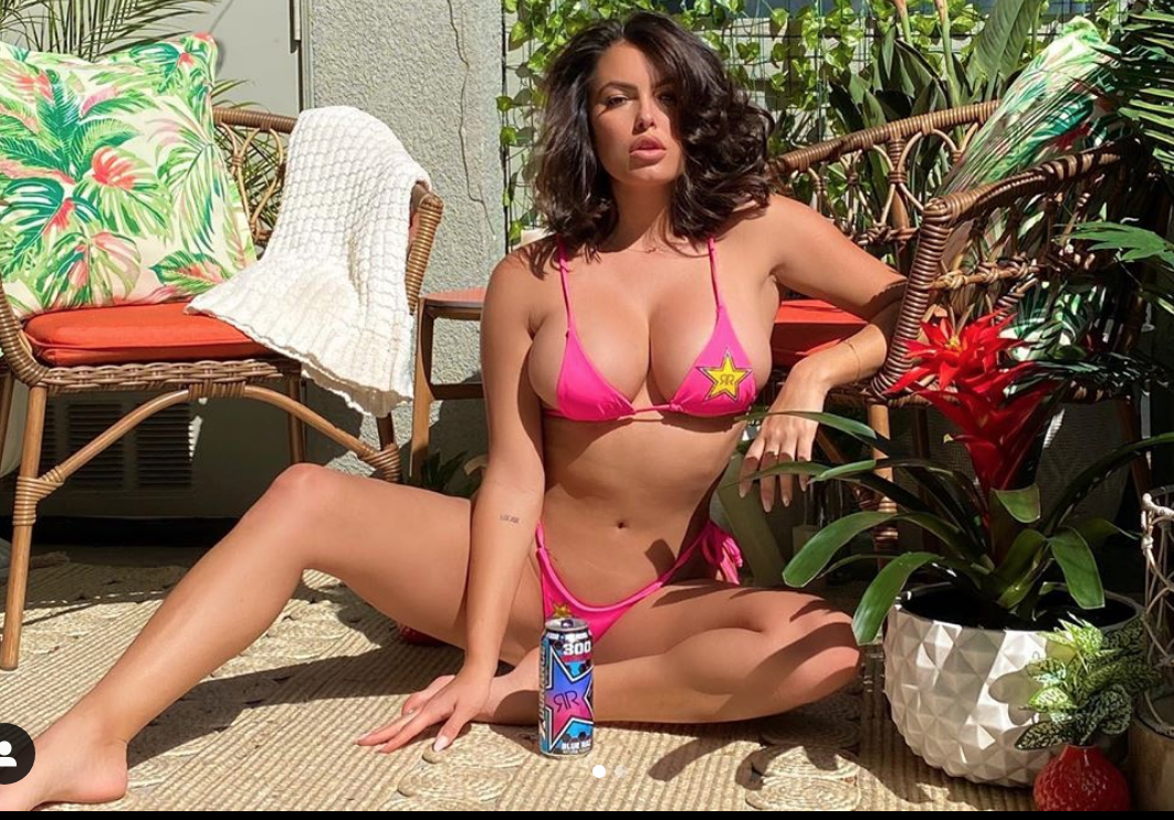 pink bikini constance nunes so hot