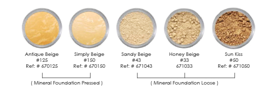 SpaChe mineral foundation