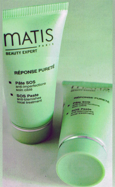 SOS Paste acne treatment for combo to oily skin by Matis Skincare and myRDM.com
