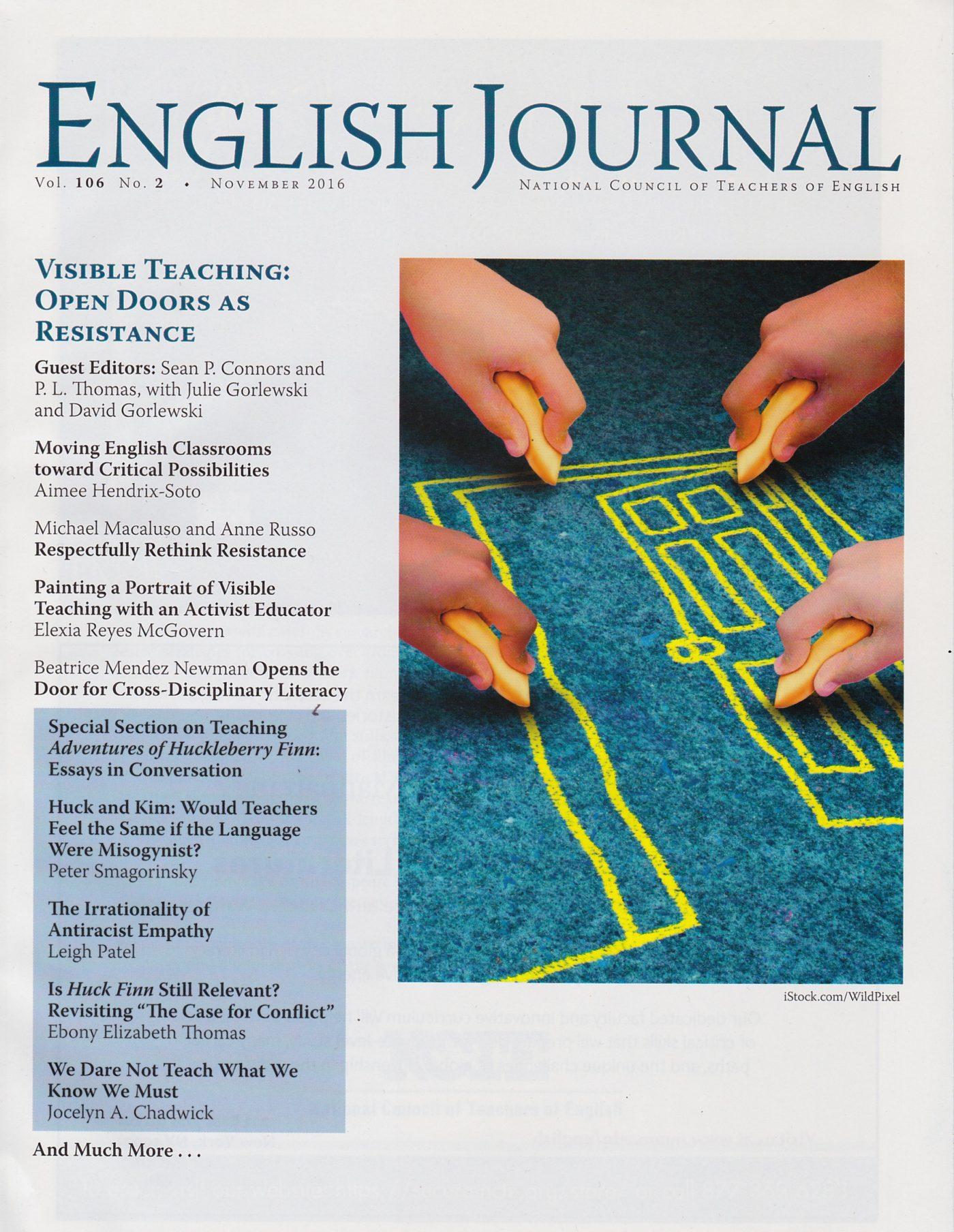 Collaborative professional development through a critique protocol | English Journal