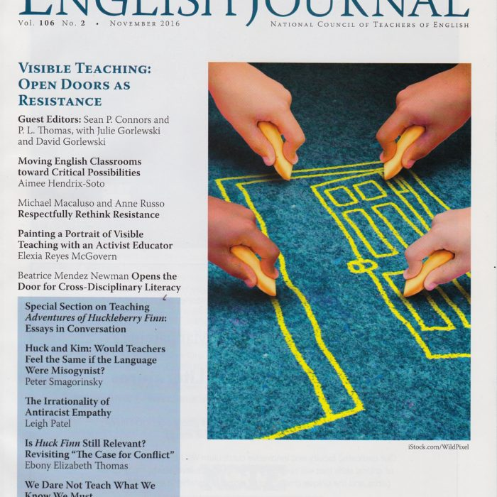 Collaborative professional development through a critique protocol | English Journal