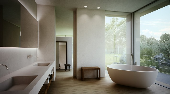 Improve-your-bathroom-with-this-Oval-bathtubs