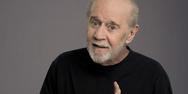 George Carlin on stage