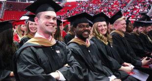 college graduates seated