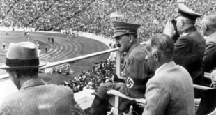 Adolf Hitler at 1936 Olympics