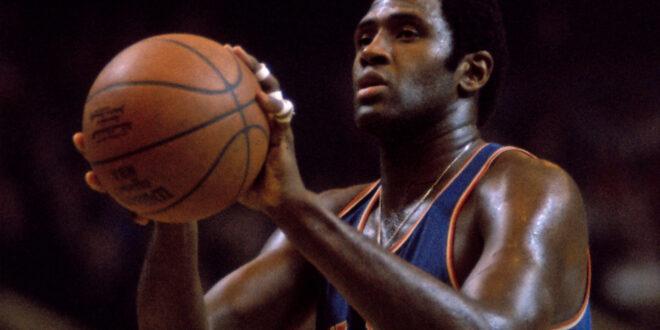 Willis Reed in 1970 NBA Championship