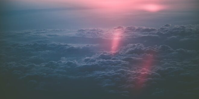 Clouds and Sunset Story About Life and Love