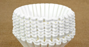 stack of coffee filters