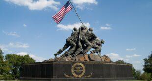 Statue of the Marines who took Iwo Jima