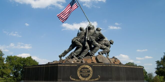 Statue of the Marines who took Iwo Jima