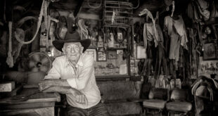 rancher in his shed