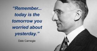 Dale Carnegie quotation