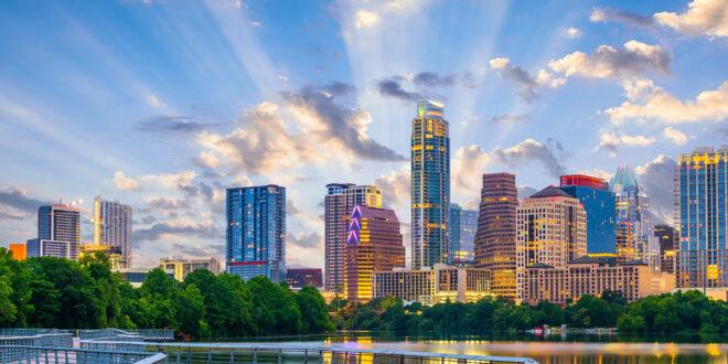 Beautiful day in Austin Texas