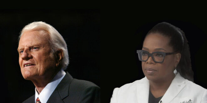 Billy Graham and Oprah Winfrey