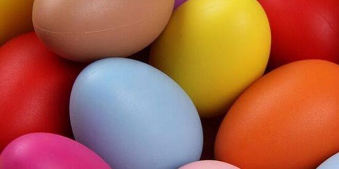 Inspiring Easter story Easter eggs