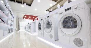 washing machines for sale at appliance store