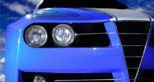 Sports Car headlight