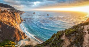 Cliff on the Ocean