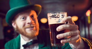 Irishman with pint