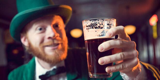 Irishman with pint