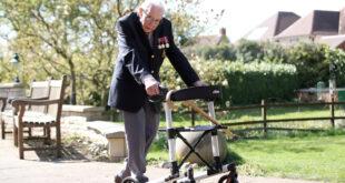 99-year old British Army Vet