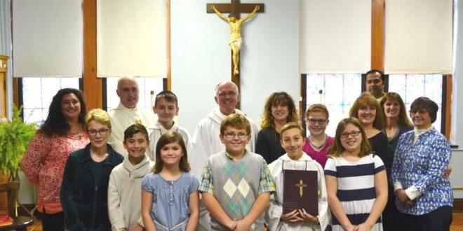 Catholic Church School group photo