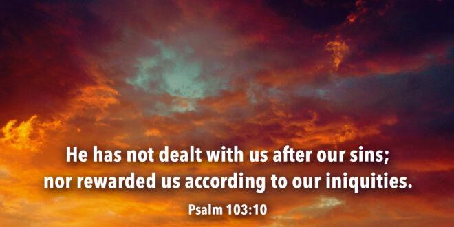 Psalm 103:10