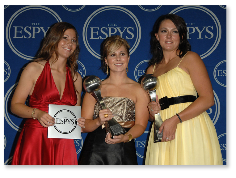 3 ladies get ESPN Espy award