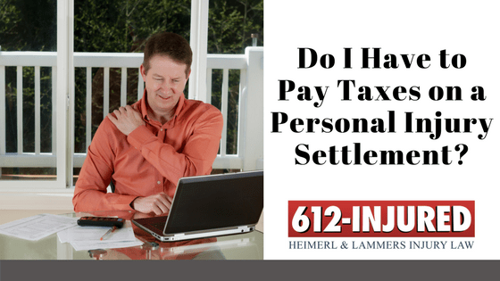 Personal Injury Settlement & Taxes: Do I Have to Pay?