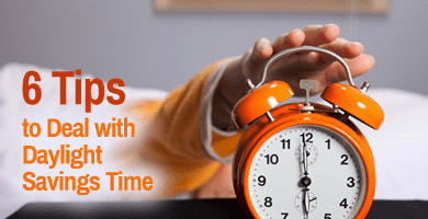 Spring Forward How to Handle the Effects of Daylight Savings Time