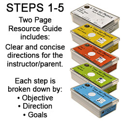 A Time For Phonics Flashcards Steps 1-5