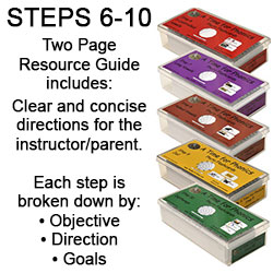 A Time For Phonics Flashcards Steps 6-10