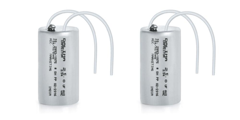 Oil Filled Fan Capacitors (Aluminium Can)