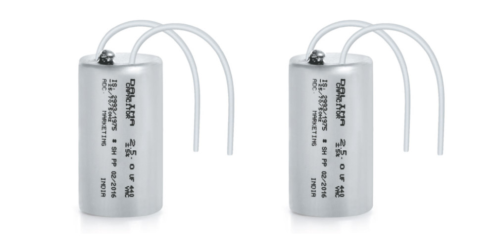 Oil Filled Fan Capacitors (Aluminium Can)