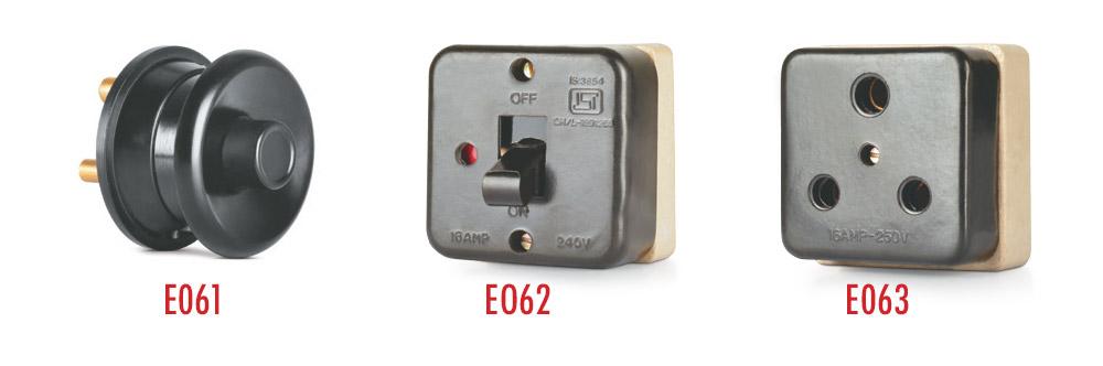 Push Top & Tumbler (Switch/Socket)