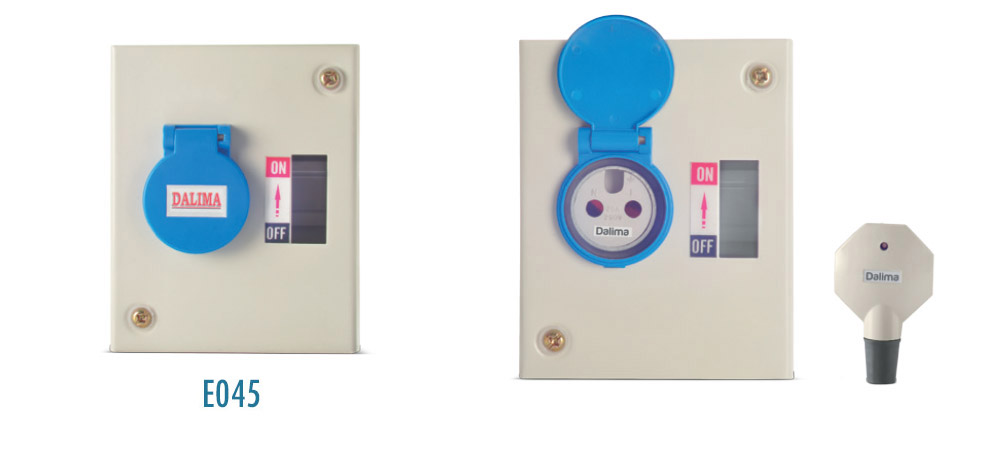 AC Metal Plug & Socket DBs