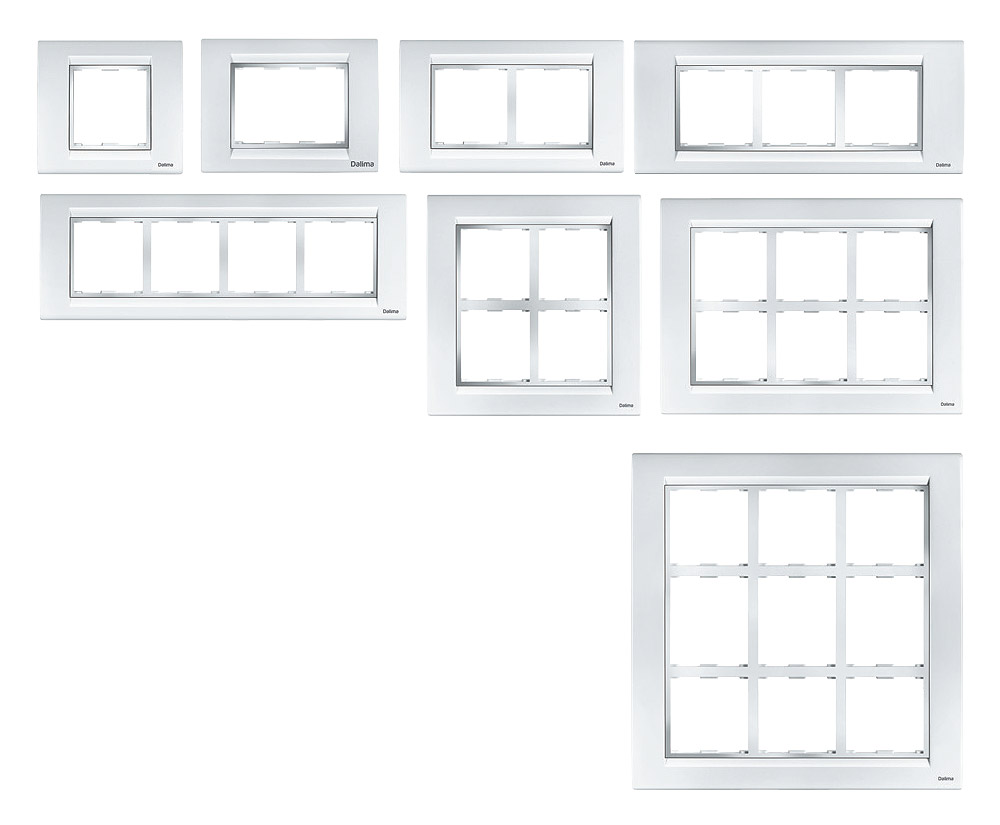 Chrome Cover & Base Plates