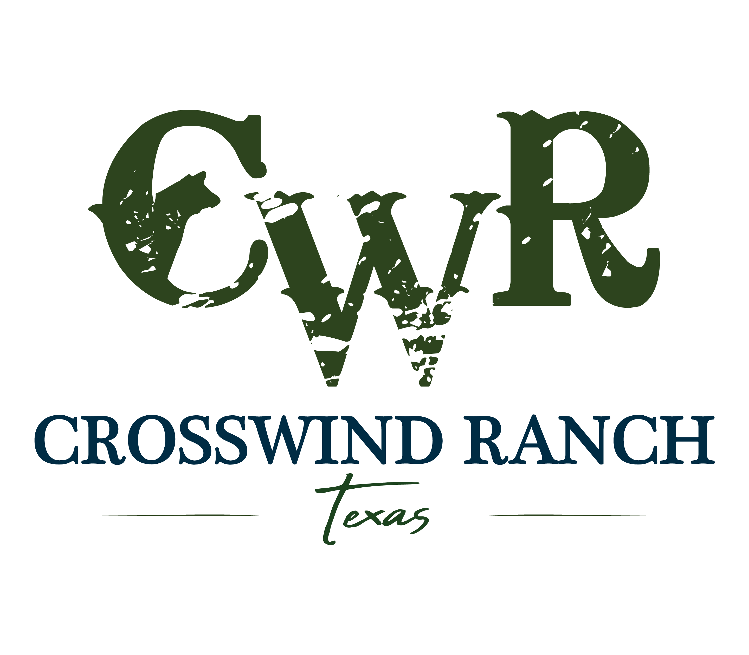 Crosswind Ranch logo PNG