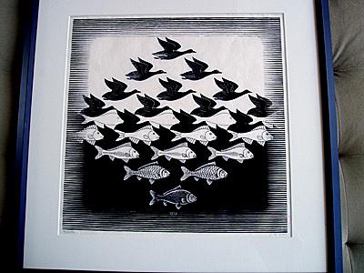 Escher - Sky and Water