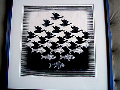 Escher - Sky and Water