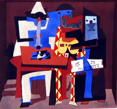 Picasso - The Minstrels