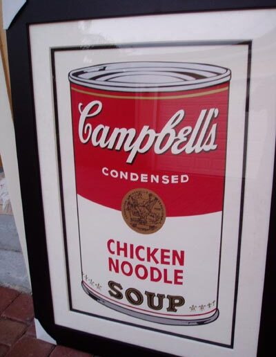 Warhol - Chicken Noodle Soup