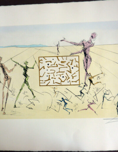 Dali - Invention of the Printed Circuit-Computer