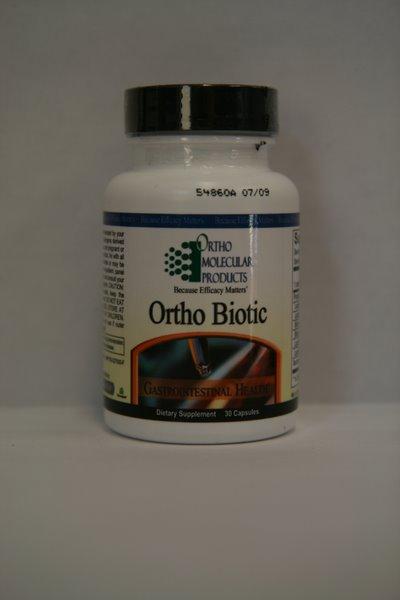 Ortho Biotic, Probiotic, 30 Capsules