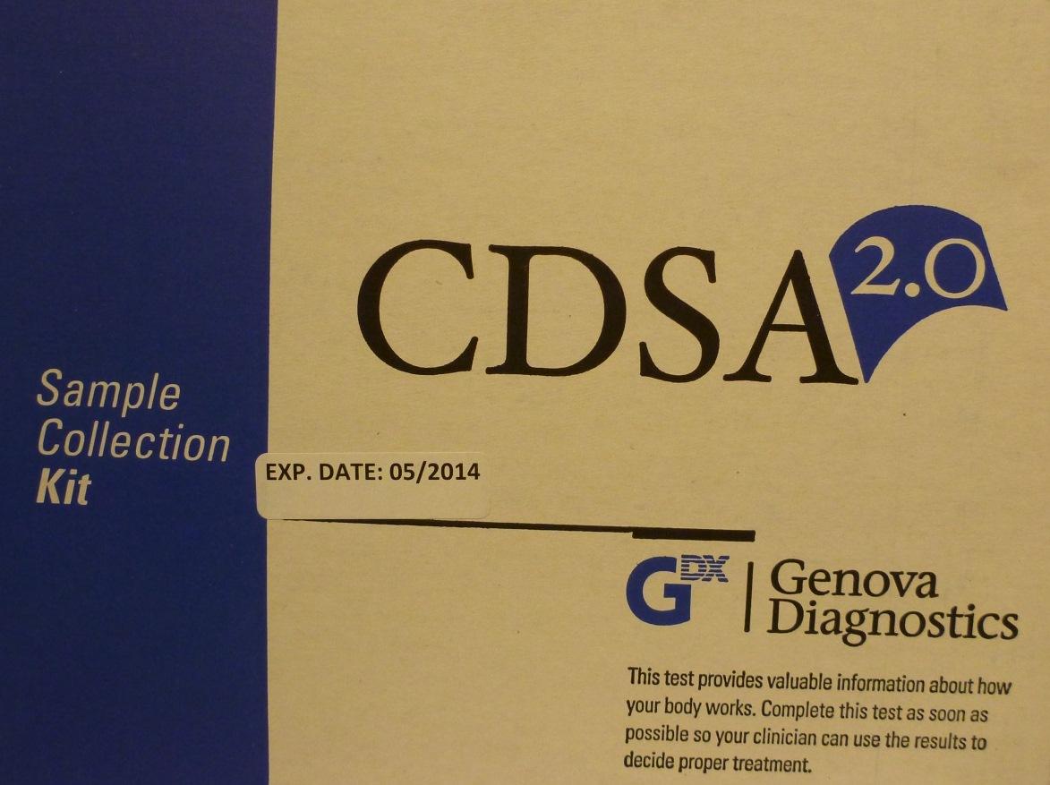 CDSA 2.0 with Parasitology