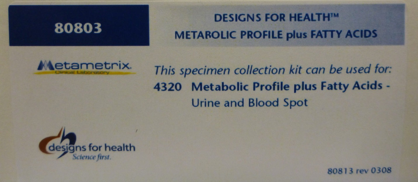 Metabolic Profile Plus Fatty Acids