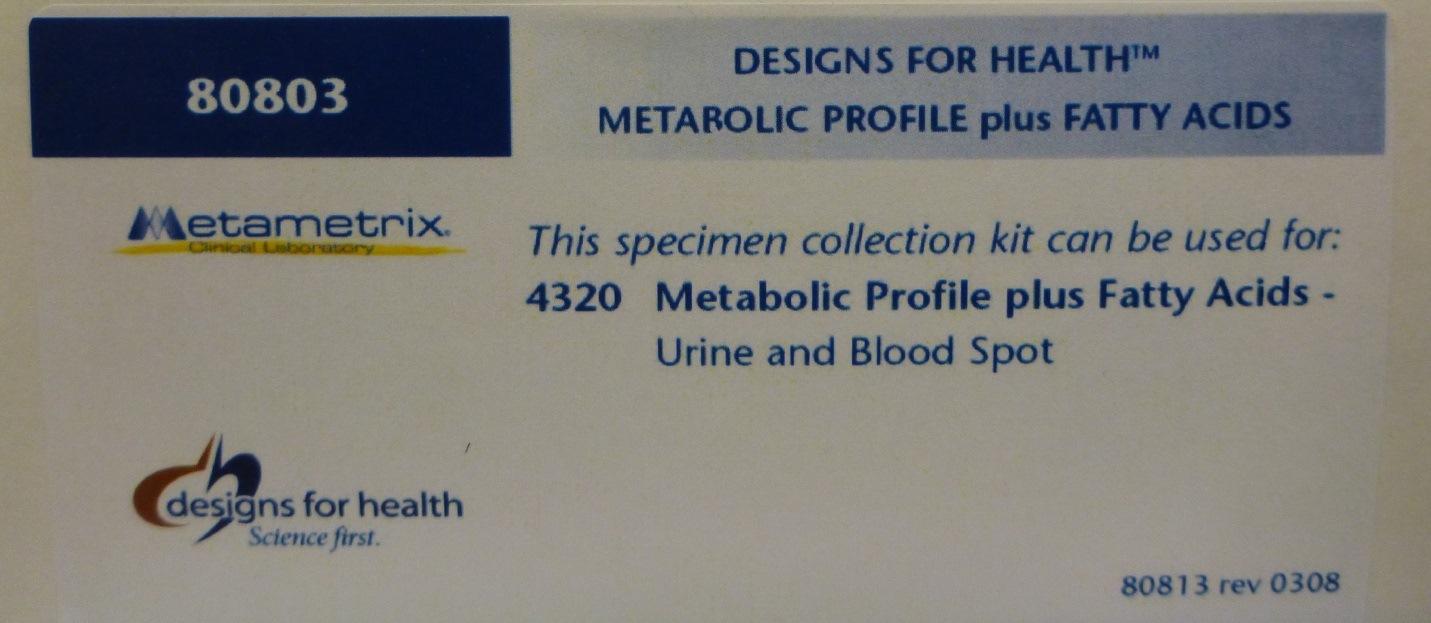 Metabolic Profile Plus Fatty Acids