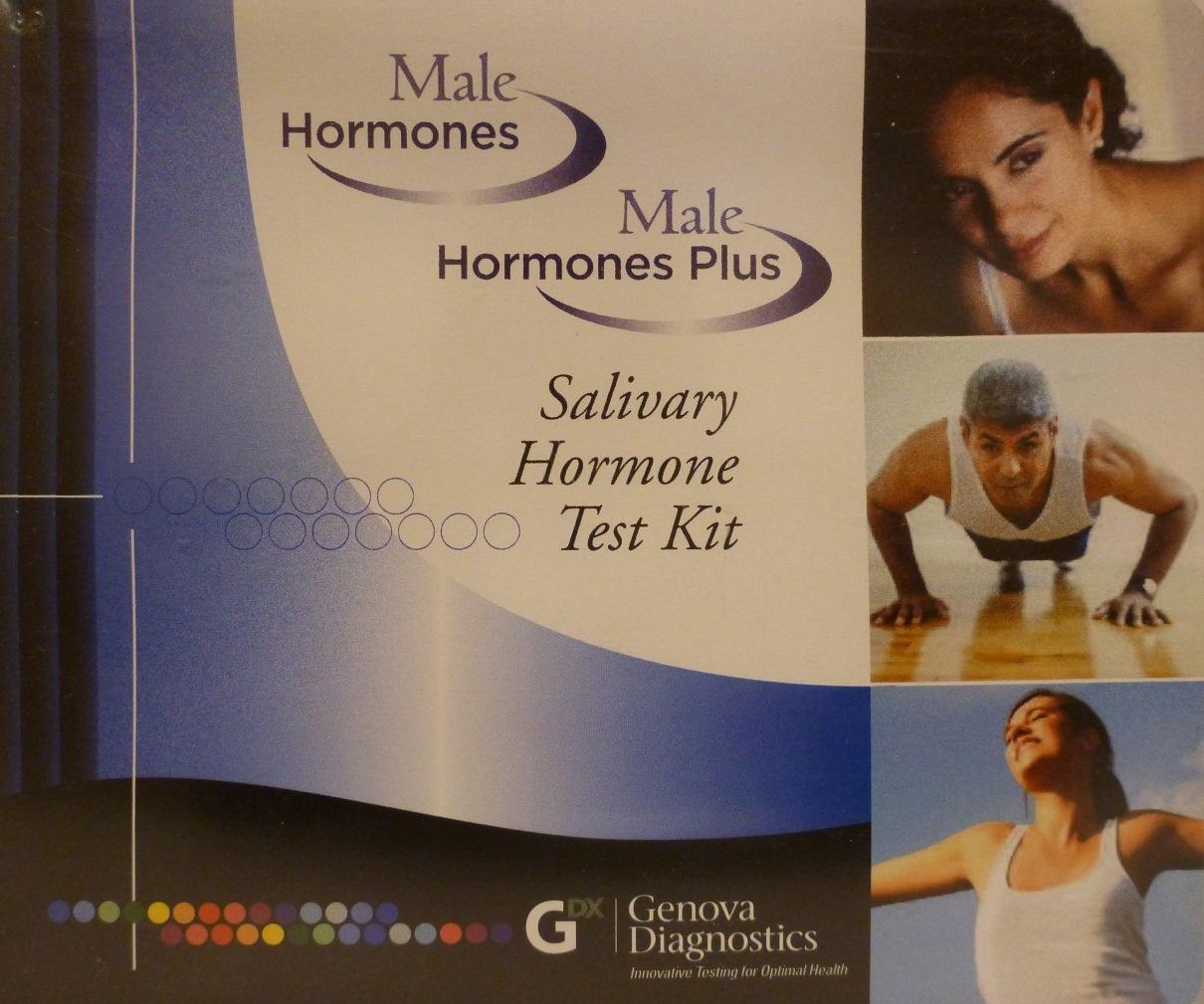 Male Hormone Plus Salivary Test Kit