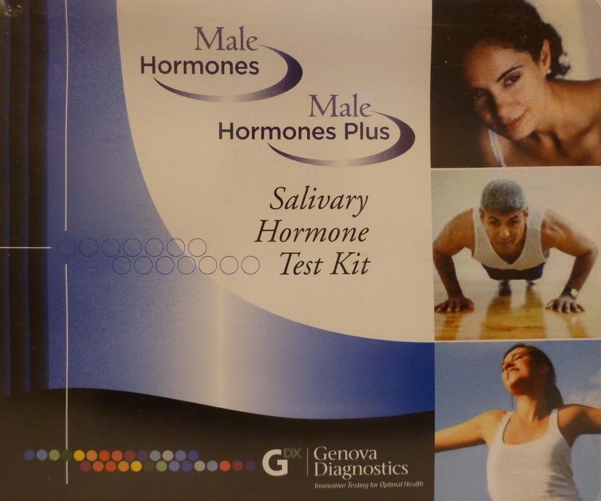 Male Hormone Plus Salivary Test Kit